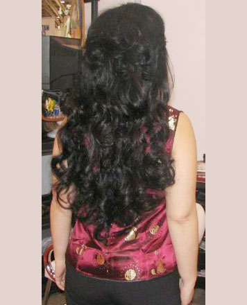 Hair extensions slide 4